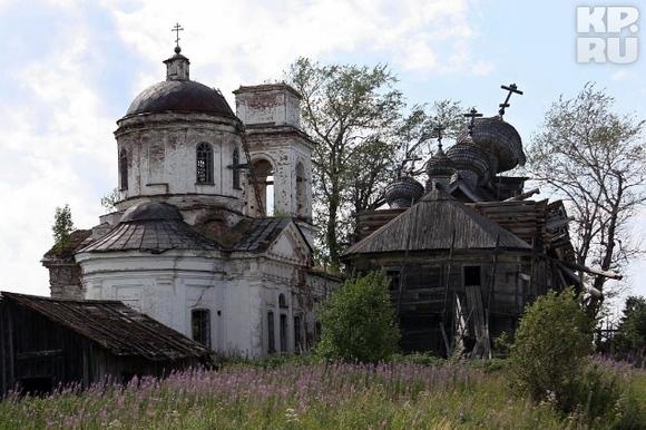 Ломать - не строить .. (храмы и церкви Вологодской области) | Вологодская область